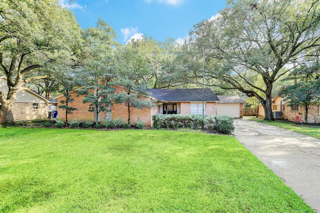 This is the one you've been waiting for. Great location! Your chance to get a great deal on a fantastic home in the coveted Spring Valley area. Well cared for house sits on a large 9,400sf lot and is zoned to Valley Oaks Elementary School, Spring Branch MS, and Memorial High School. Close to everything - food, shopping, freeway access. Easy access to I-10, 610, Beltway 8, City Centre, and the Galleria. This charming single story 4 bedrooms, 2 bath home on a cul-de-sac features an open floor plan great for interacting with family or friends. Both bathrooms have been upgraded, as well as the flooring. The Primary bedroom offers a spacious closet with shelves. Large fenced backyard with great enclosed patio will be great for outdoor cookouts! This is the perfect opportunity to own in a wonderful neighborhood - ready for you to renovate and make your own, or use the land and build your dream house here.