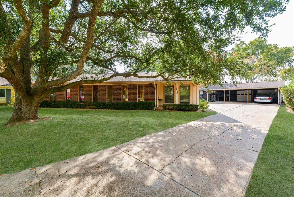 One of a kind Ranch style home located on cul de sac street in the community of Tomball Hills. Enjoy the comforts of the spacious backyard, the sparkling pool and the amazing covered patio! Detached garage with 2 parking spots, 3 carport spots and a 580sf garage apartment with den, kitchen, bedroom and full bathroom (not included in house sf). This space is perfect for inlaws, rental income or a detached home based business. The interior of the home features wide open spaces with gorgeous picture windows across the front living area and the back of the house creating spectacular views of the outdoor Oasis. Kitchen with granite counter tops and stainless appliances and a black refrigerator that stays with the house. Saltillo tile flooring extends front entry door to dining, kitchen, bathrooms, bedroom 3 and the sitting area in primary bedroom. Carpet in den, primary bedroom and bedroom 2. Quick access to main roads. Close to shopping, hospitals, Lone Star College and so much more.