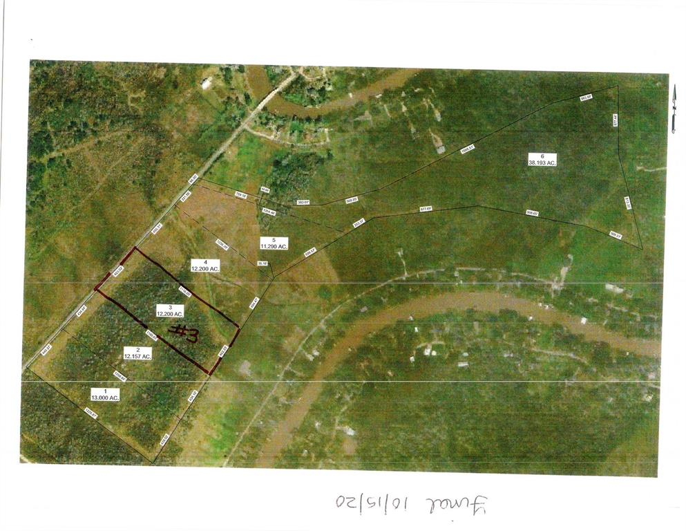 12.2 acres out of a 99.5 tract parcel.  Unimproved, off good county road. Ag exemption available with appropriate Matagorda County Guidelines.  Will have to install well and septic, drive.    Seller will pay for survey prior to closing with 100% loan approval.