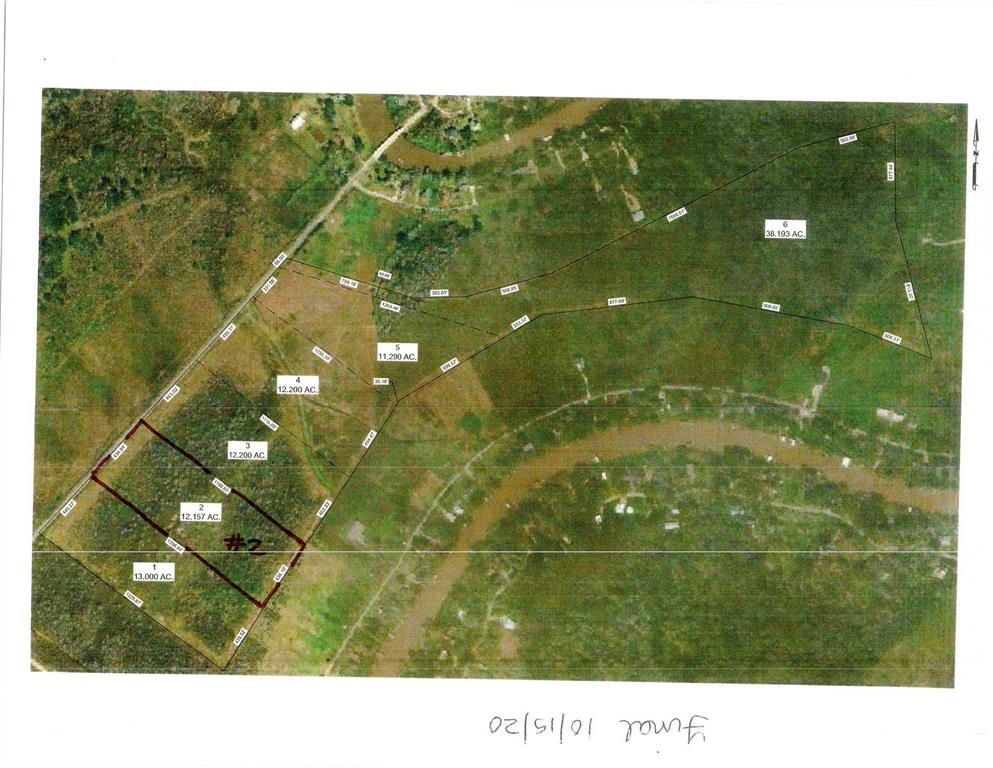 12.147 Acres out of a 99.5 Parcel.  Rough cleared, seller will pay for survey with 100% loan approval prior to closing.  Ag exemption available following appropriate Matagorda county guidelines.  Well and Septic will have to be installed and driveway access.  Fenced front and back side.