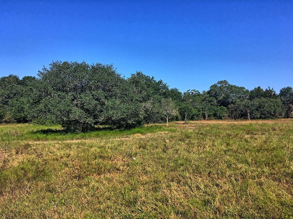 Located in Lavaca County 11 miles south of I-10 on gravel CR 147, this +/-30 acre farm & ranch property also lends itself to residential or weekend use with nice views of the countryside, pastureland for livestock grazing, ideal pond site near seasonal creek & ideal habitat for wildlife. This diverse property is highlighted by mature Live Oaks, open/wooded terrain & 20' of elevation change throughout. The property has a nice rectangular shape with similar to larger sized neighbors. The property contains less than 0.50 acre in the FEMA flood plain in southeast corner of property, consists of a variety of mostly sandy loam soils, is ag-exempt keeping taxes to a minimum & situated approx. 1 hour from BUCEE'S in Katy or Bastrop. County Road 147A, a dead end road, borders the south boundary of property. Priced at $10,500/ac. Surface sale only, no minerals. No pipeline or oil/gas activity affecting the property. West boundary of property is unfenced. Light restrictions. Survey required.