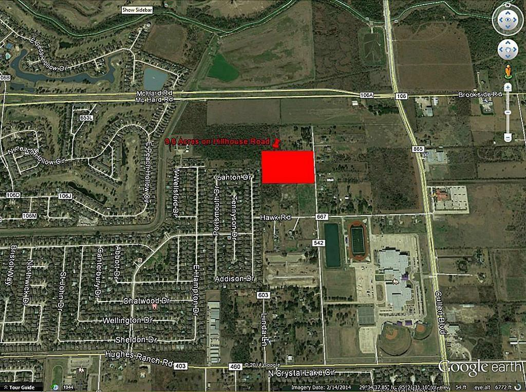 0 Hillhouse - CR 542 Road, Pearland, Texas 77584, ,Lots,For Sale,Hillhouse - CR 542,11738651