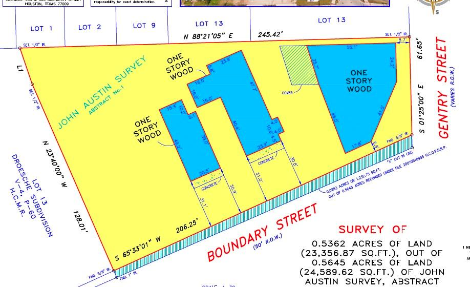 903 Boundary Street, Houston, Texas 77009, ,Lots,For Sale,Boundary,49513670