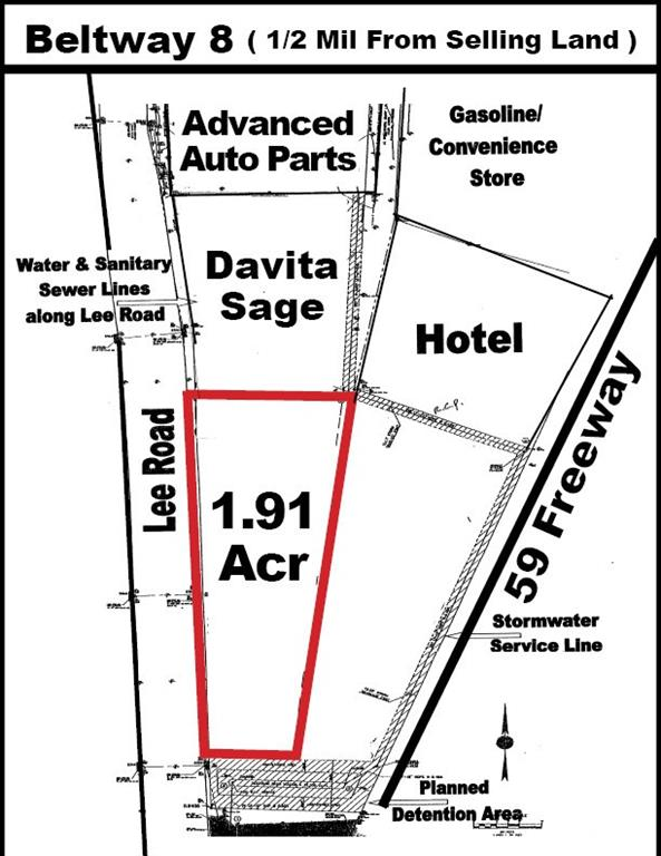 COMMERCIAL ZONE. Clear LOT and ready to be developed. SHOPPING CENTER, HOTEL, APARTMENTS, TOWNHOUSE.   Big Frontage 438 X 211, Close to Auto Zone, Shopping Center, Gas Station, DaVista Dialysis.