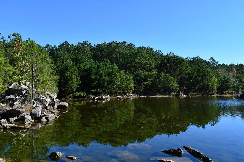 [*POSTED on Property, No Trespassing] Shown by Appointment Only. A BEAUTIFUL LOVELADY 45 ACRE GEM!! UNIQUE UNDEVELOPED TIMBERLAND WITH +/-1.5 ACRE PRIVATE LAKE +/-10'-12' DEEP IN PARTS, STOCKED IN 2000 W/BIG MOUTH BASS, GO FISH OR SWIM, PER SELLER. IN 1988 HISTORICAL AERIALS SHOW NATURAL SANDSTONE ON SURFACE, QUARRIED THROUGH 1993 THEN SHOWING LAKE FORMED. NATURALLY FED BY UNDERGROUND SEEPAGE AND OUTFALL, NEVER DRY, PER SELLER.+/-25 MINUTES EAST OF HUNTSVILLE. BUILD YOUR NEW HOME/LOG CABIN OVERLOOKING YOUR PRIVATE LAKE, OR PLUG & PLAY YOUR RV/MINI-HOME. MAKES A GREAT WEEKEND VACATION GET AWAY, VERY PRIVATE SETTING. VIEW EAGLES, COYOTE, BOB CATS, FOX OR HUNT DUCK, DEER OR BOAR. SEE ATTACHED SURVEY & DEED RESTRICTIONS, NO MINERALS.