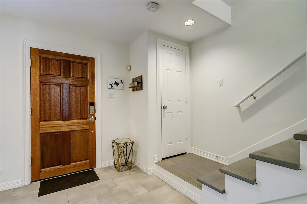 There is a lovely formal entry to this home including a coat closet.