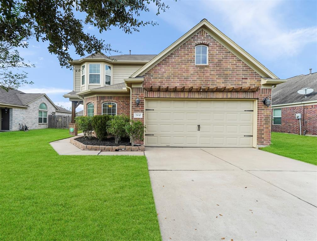 PLEASE CALL YOU AGENT OR THE LISTING BROKER DIRECTLY FOR QUESTIONS OR SHOWINGS. INCREDIBLE VALUE WITH TONS OF CUSTOM UPGRADES AND FEATURES! A must see in Briarwood Crossing with TONS of UPGRADES: TRAVERTINE T/O DOWNSTAIRS, GRANITE, CROWN, CORNER FIREPLACE AND MOTHER-IN-LAW SUITE DOWNSTAIRS with much, MUCH MORE!  Amazing back yard patio with tile and a Pergola. The downstairs half bath was originally a FULL BATH with a shower in the current linen closet area and it is still plumbed for this feature. Originally, there was also a door to this bathroom from this downstairs bedroom, which makes it perfect for an elderly or handicapped family member. HURRY, AS THIS ONE WON'T LAST LONG!!