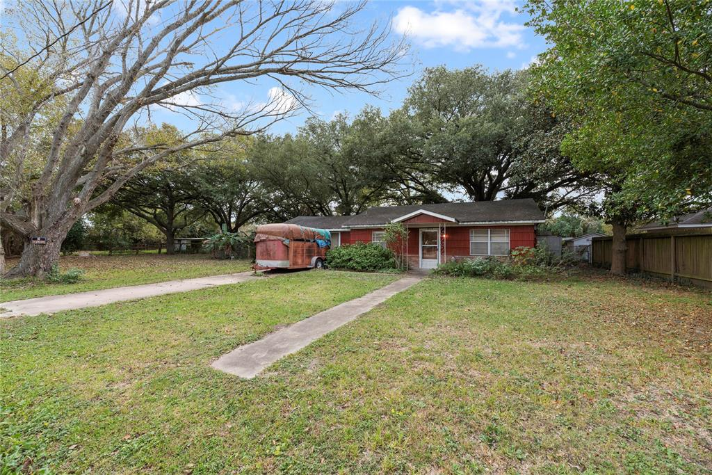 Location Location Location! Hard to find UNRESTRICTED land within minutes of Alt-90, Beltway 8, and Fondren. More than a ½ acre (25,855 sf lot (source: HCAD)).  Located in small/quiet neighborhood. Endless possibilities for a family and/or business. This hidden gem is something you have to see for yourself. This property currently has a 4 stall horse barn with tack/feed room and 60 x 100 riding pen.  Barn has water into stalls. Additional outbuildings in back yard (20 x 30 & 20 X 48) can be used however you need! Both 10 x 12 Tuff-Sheds and large metal storage box will convey with property. Never flooded. Home likely needs to be renovated. Property is being sold AS-IS.