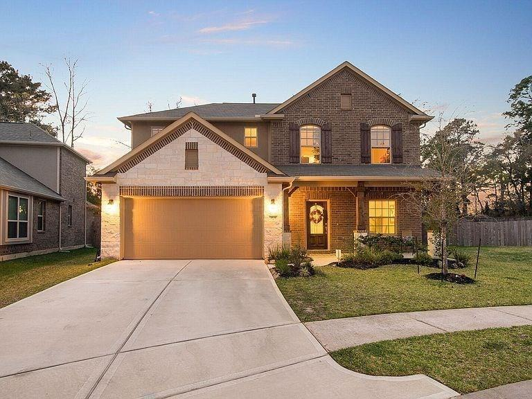 **Gated Community with pool access**AVAILABLE ASAP** Tucked away in a Newly Developed Community, just minutes away from The Woodlands, with quick access to Highway 99 and I-45! The Preserve at Northampton is a hidden GEM! This home is located in a half cul-de-sac with low through traffic! The playground in the back will stay with the property as will the washer, dryer and refrigerator! The neighborhood also has a Community Clubhouse, Pool and Parks! This home won't last long!