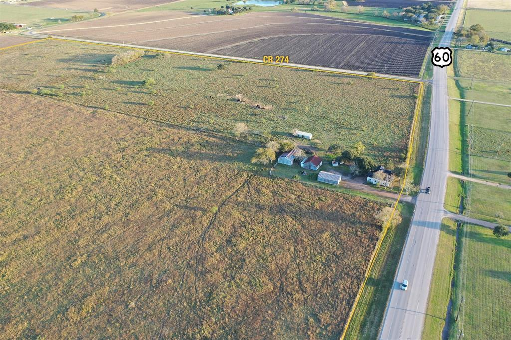 Highly sought after land located on HWY 60 in the well renowned East Bernard school district. With frontage on 3 paved roads including HWY 60, CR 272 and CR 274, multiple development options are available.  Could work well as either a residential development or as an industrial site with access to HWY 90, Interstate 10 and Interstate 59.