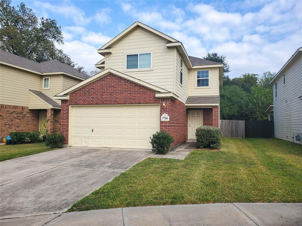 If you are looking for a beautiful home in a friendly neighborhood, then this is the perfect place for you! This KB Home was completed in 2014 and is nestled on the edge of a cul de sac in the Post Oak Place subdivision. This 3 bedroom, 2 and a half bathroom house is one of the most coveted investments in the Greater Houston metroplex. All bedrooms are up including the primary bedroom with an en suite that has a primary bathtub and stand up shower. The home also has an abundant amount of storage space and a full two car garage. The utility room is located upstairs off the primary hallway. Downstairs contains your new spacious kitchen with breakfast area and abundant living space. Your extra half bath is located off the kitchen as well. This property is priced to sell and won't last long. Make your offer today!