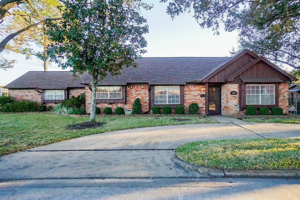 """CHARMING UNIQUE BRICK HOME IN """"OLD SUGAR LAND"""" HISTORIC NEIGHBORHOOD WITH GOOD BONES SITTING ON A HUGE CORNER LOT. VERY SPACIOUS, 4 BDRMS AND 3 FULL BATHS, LOTS OF STORAGE, NICE SIZE BEDROOMS & CLOSETS, CLOSED IN BACK PORCH, WOOD DECK & NICE SIZE WORKSHOP ALL SURROUNDED BY BEAUTIFUL MATURE TREES IN THE HEART OF SUGAR LAND! WALK TO CHURCH, BASEBALL & FOOTBALL FIELDS, & PARKS.  COME CHECK OUT THIS HOME THAT OFFERS SO MANY POSSIBILITIES."""