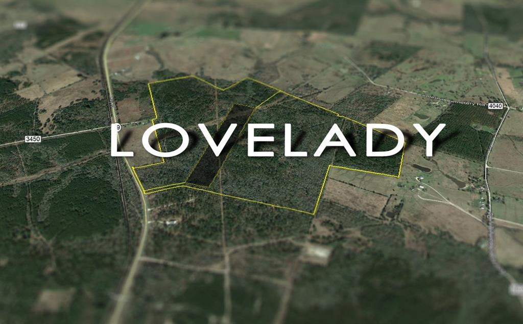 """283 Acres; Great locations in historic Lovelady, Texas. Good drainage and topography. Good access and frontage. Take your pick! Managed forest lands. First time open market offerings. Excellent recreation. Beautiful home sites with rolling topography. Home to the Annual """"Lovefest"""" Music & BBQ Festival, Lovelady is filled with a great sense of community & hometown charm!"""