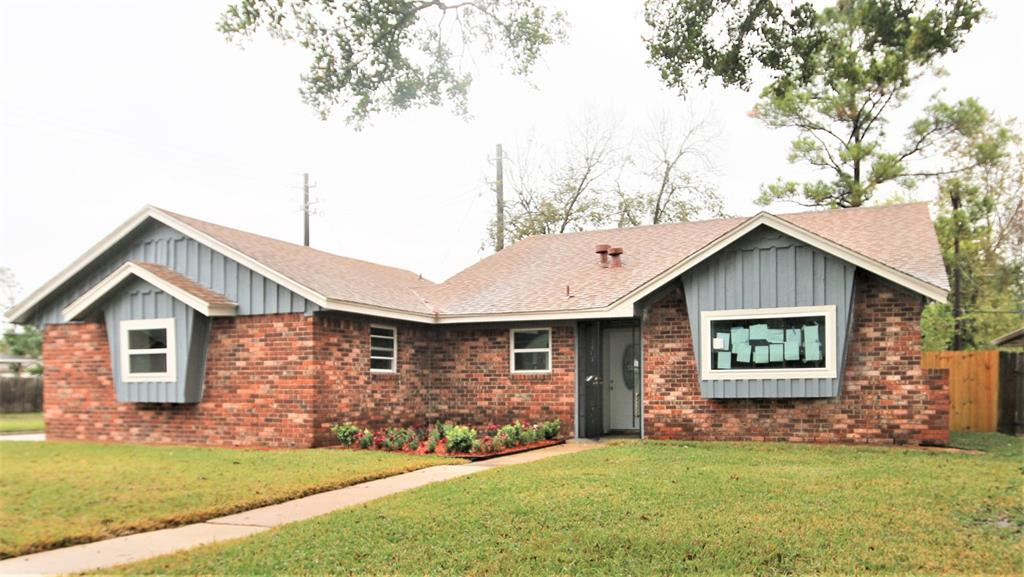 This Diamond is a one-of-kind large corner lot!!! Did NOT flood in Harvey. Totally remodeled from top to bottom with all city inspections. Items replaced: interior and exterior pex pluming, HVAC, electrical, water heater, walls, insulation, paint, tile flooring, LED lighting fixtures, both kitchen & baths white quarts, cabinets with soft close doors, double sink in master bath with a spacious shower, double pane windows, sliding door, double driveway, garage door and remote, fence, sod, french drain, foundation with lifetime warranty, (refrigerator & stove included) Easy access to Hwy 90, S Sam Houston Pkwy, FM 521 & 288! Conveniently located near Cambridge Park & minutes away from Downtown Houston & Medical Center. Make an appointment now before it is too late!