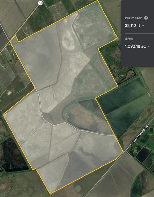 This property is a collaboration of three adjacent property owners (Peltier, Geissen, Garner).  The entire tract is +/-1,092 acres.  Most of the property is currently being farmed in rice, and is part of a farm program.  Virtually all of the property is irrigable (watered) by adjacent reservoirs, tanks, and creeks.  This also creates tremendous outdoor hunting and recreation opportunity.  The property is regularly home to ducks, geese, teal, fish, deer, and hogs.   The property is high and dry.  Nearly all of the property is outside of the flood plain, which is rare for this large of coastal property.