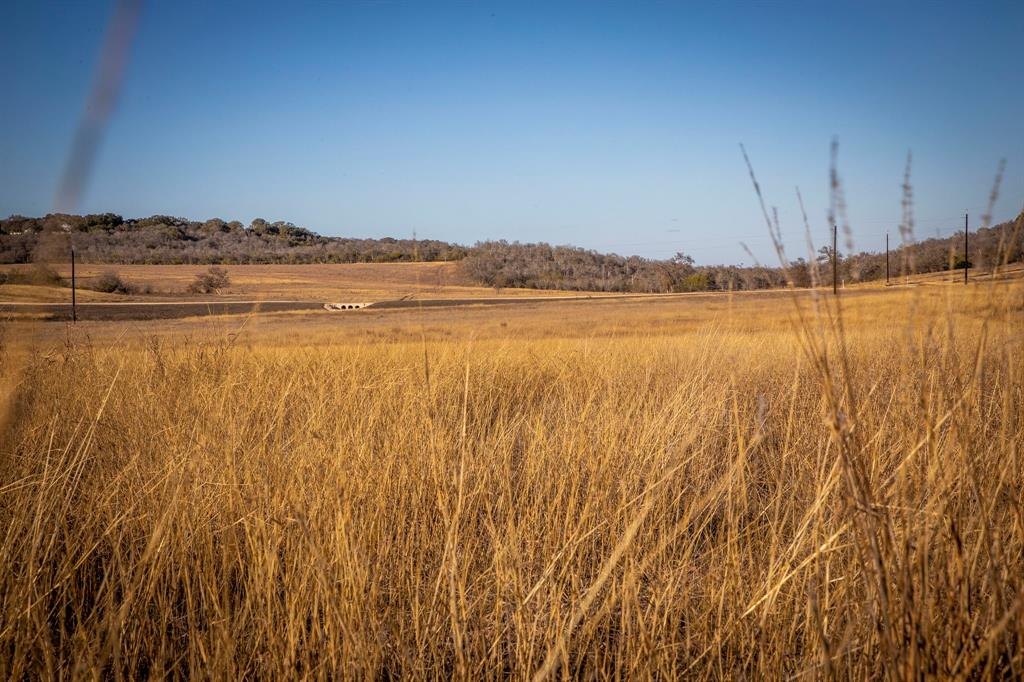 Nestled in the hills of Geronimo, TX, this beautiful home site offers simple country living in Navarro ISD. Large neighboring tracts, hill country views and adequate topography to build a pond. Currently under hay production, suitable for grazing. Horse arena, guest casita and barn, suitable. Ag exempt, abundance of wildlife, private road frontage. Water and electric available. See gated farm and ranch community website for additional information.