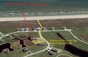 25715 Spotted Sandpiper Drive, Galveston, TX 77554