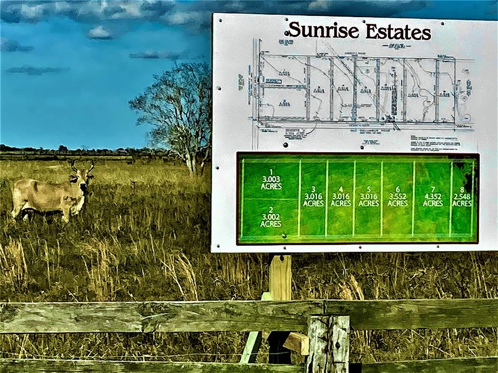 NEW SUBDIVISION LOTS AVAILABLE AT SUNRISE ESTATES. BEAUTIFUL OPEN-PRAIRIE LAND IN GREAT LOCATION!!!!! THIS PROPERTY IS JUST SECONDS FROM I-10, AND ONLY APPROXIMATELY 30 MINTES FROM KATY. THE PROPERTY IS CLEARED AND READY FOR YOU TO BUILD YOUR DREAM HOME!! CALL TODAY FOR YOUR PRIVATE SHOWING