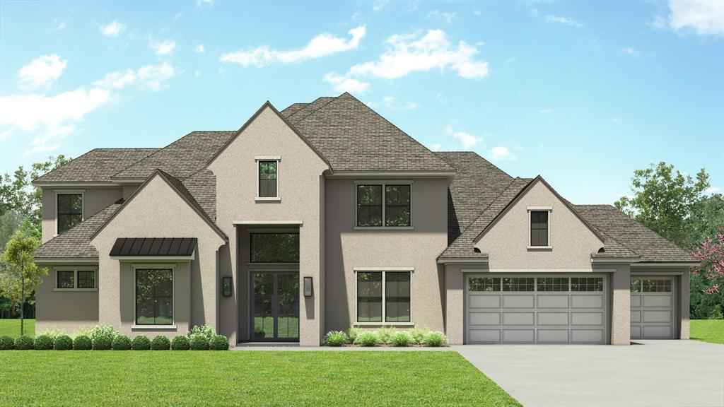 Ready by Summer 2021, this 4,152 SF inventory home has 4 large bedrooms (2 down), each  with private bath, plus powder room accessed from home and patio.  2-story family room with gas fireplace.   Big game room down with covered patio. Windowed media room upstairs could be BR5.   Enormous master bath  with car-wash shower and dual 7' vanities, adjacent to his/hers sectioned master closet.  Much more in this very  livable home.