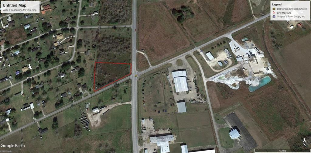 Large, Corner Commercial Property Right Off Highway 60 Just Waiting To Be Developed. A lot Of Opportunities For This Acreage! 110.78 Ft. Highway Frontage.