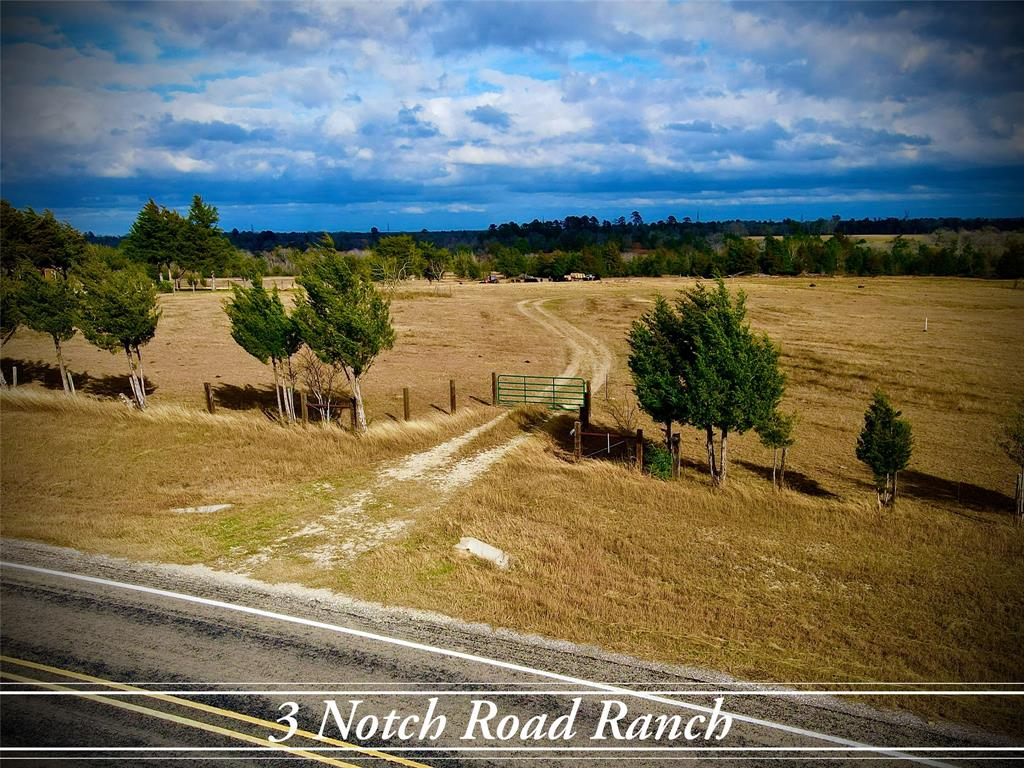 """The """"3 Notch Road Ranch"""" is now available! 73.146 beautiful rolling acres with Elevation changes from 340'-400' This slice paradise is located between Anderson, TX  and Roans Prairie. It is located on FM 2562 and has approximately 486 ft of frontage on an asphalt road. Currently being used as a cattle ranch, this property has a great deal of potential. Electric is available at the road, and there are plenty of places to build. This would make for a great opportunity such as an investment, building on, or even making this a weekend place to run livestock, hunt, or even fish! Must see! Call Listing agent with any questions."""