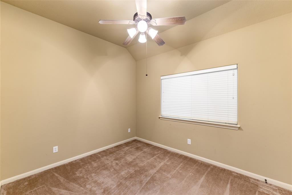 Spacious secondary bedroom.