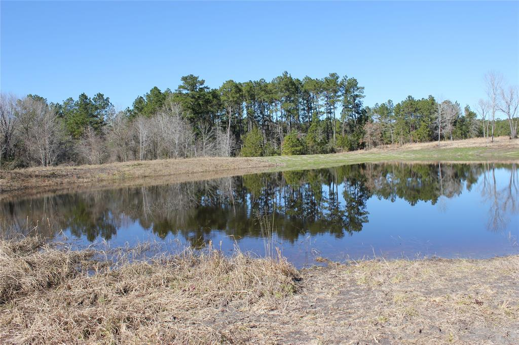 Beautiful acreage with two high hills for you to build your dream house and overlook the pond.  This tract of land is fenced on three sides and ready for you to make your own unique entryway. Bring your horses and cattle!  Pasture land is hard to come by, and this tract has a nice combination of spaced out hardwoods and open land.  Water is also available through Leggett Water Supply and power is also available!  This property is only 5 minutes from US Hwy 59 where you can easily get to Lake Livingston, Houston or Lufkin.