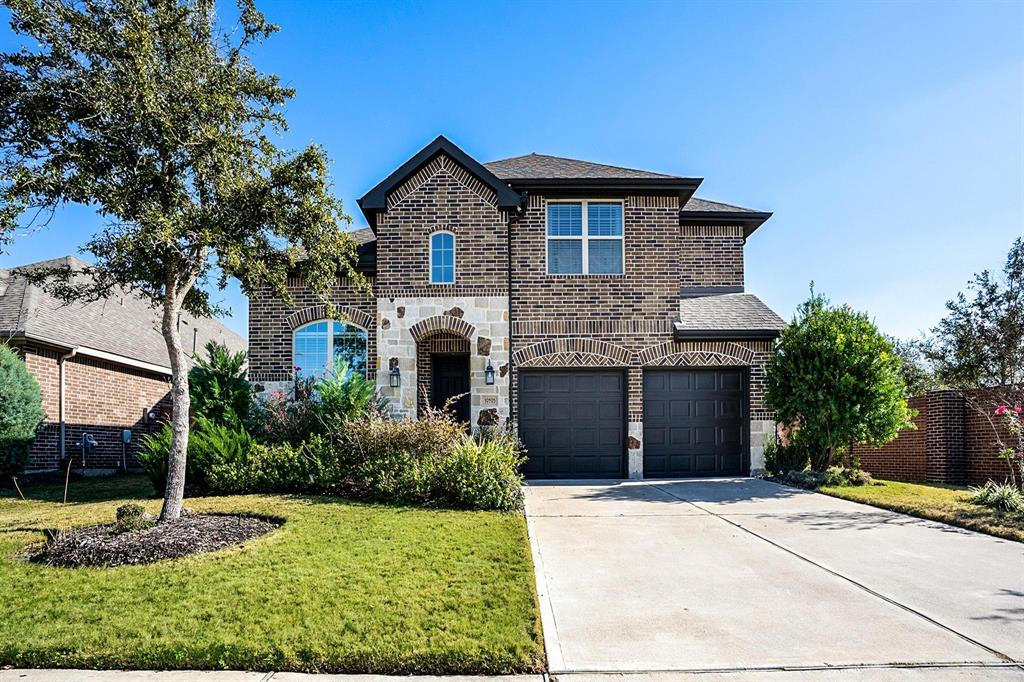 A well-kept, move-in ready, gorgeous 2 story, single family home with brick & stone elevation, 4 beds with 3 full baths built on a huge corner lot with brick fence and no backyard neighbor. Home is in award winning Aliana community with best-in-class amenities. As you walk in, you are welcomed by open & elegant living areas with crown molding walls. Off to the side is the formal dining room and the study. The kitchen is neat with enormous open air and usages. Large master bedroom with lots of natural light from the large bay windows and custom closet. Master bath is fitted with a large, jetted tub, his and her vanities. Home has 3 spacious storage rooms and lots of shelves throughout. Home comes with water softener, reverse osmosis, shades, and curtains. Modern game room, and media room upstairs. Backyard has extended cover patio, great for play, family gatherings, cookouts, or relaxing. Viewing available for your convenience. Make an offer while this limited listing opportunity last!