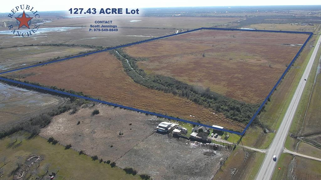 This is hard to find large acreage in fast growing Brazoria County. It is located about an hour from downtown Houston and Galveston, while still offering a rural setting. This property also has great access and visibility with about 3300 feet of frontage on FM 2004. This location would be an ideal location for a business or homesite.  Location: On paved FM 2004 just over 2 miles East of FM 523.  Habitat: Open pasture with no structures.  Agriculture: Property has been used as a hay field for a cattle operation in recent years. Property is taxed at agriculture valuation and agriculture tax rate.  Wildlife & Hunting/Fishing: Hunting is permitted.