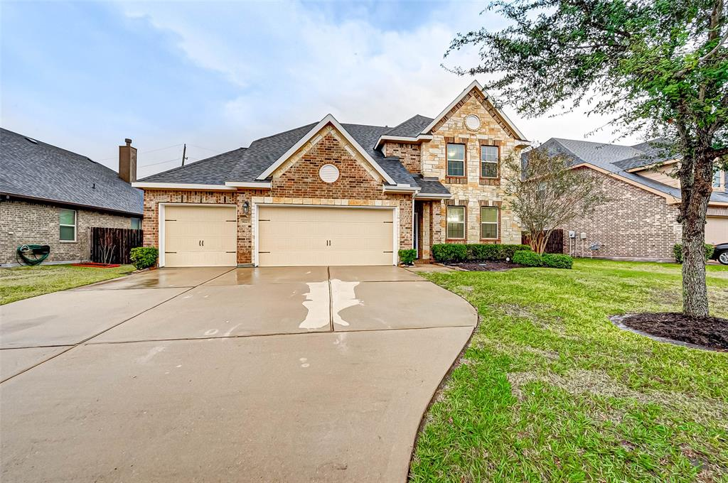 Check out this Gorgeous Brick and Stone home with 3 CAR Garage located in Desirable Bonbrook Plantation! Enter the Neighborhood just minutes away from 59 and FM 762, this Immaculate home Boasts Pride of Ownership Throughout! This home features gleaming wood floors in the entry with recent fresh paint throughout! The kitchen has Stainless Appliances, 12x24 upgraded tile and Tons of Cabinets w/Walk-In Pantry Providing Ample Storage Space for All of Your Kitchen Gadgets! Granite Counters with Wrap around Breakfast Area Allow Plenty of Space for Preparing Amazing Meals for Family and Friends all the while being Open to the Living Area for Ease of Entertaining! The Master Bedroom is large and spacious while MB has Double sinks, Garden Tub w/a large Separate Shower. Upstairs are 4 additional Bedrooms, HUGE Game Room, and 2 Full Bathrooms! Amazing Backyard space makes Entertaining a Breeze!! This home is truly a MUST SEE! Call and schedule your Private Viewing TODAY!