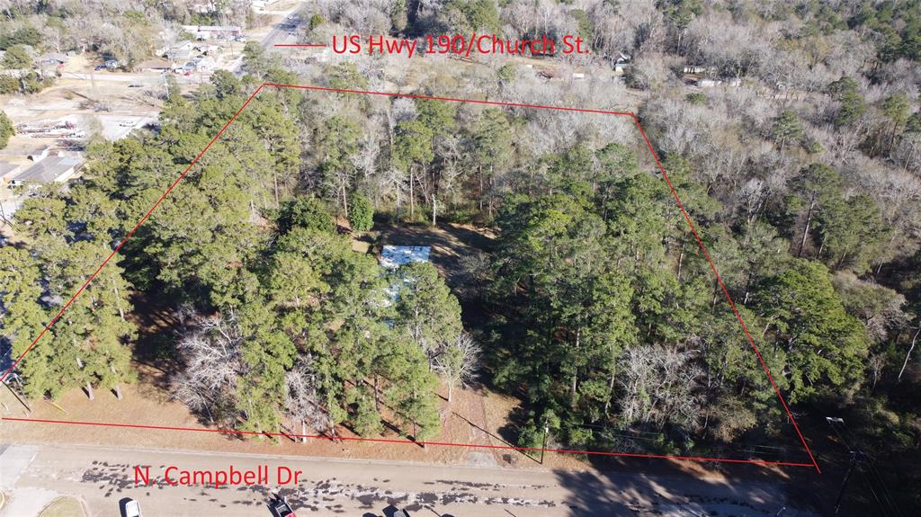 Great approximately 7 acres on Hwy 190 that can be developed into anything you desire.   About 15 minutes from Naskila Gaming. It could be great location for house, restaurant/ motel, office, multifamily development. Close to existing development.  Additional acreage behind this location could possible be available as well.