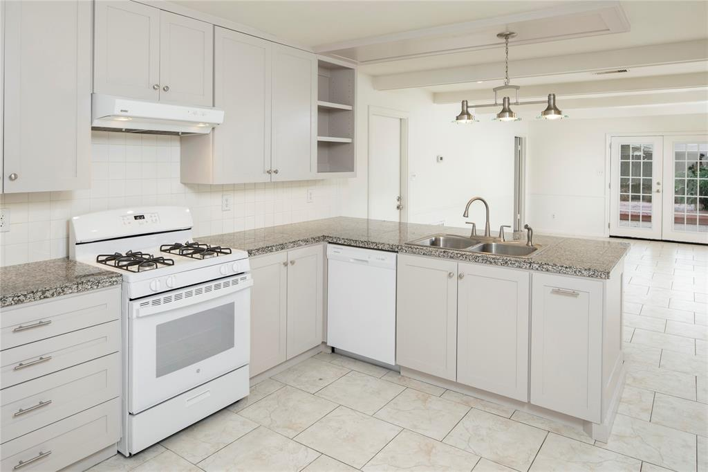 The kitchen has brand new appliances, and excellent counter and cabinet space (more in the next photo).