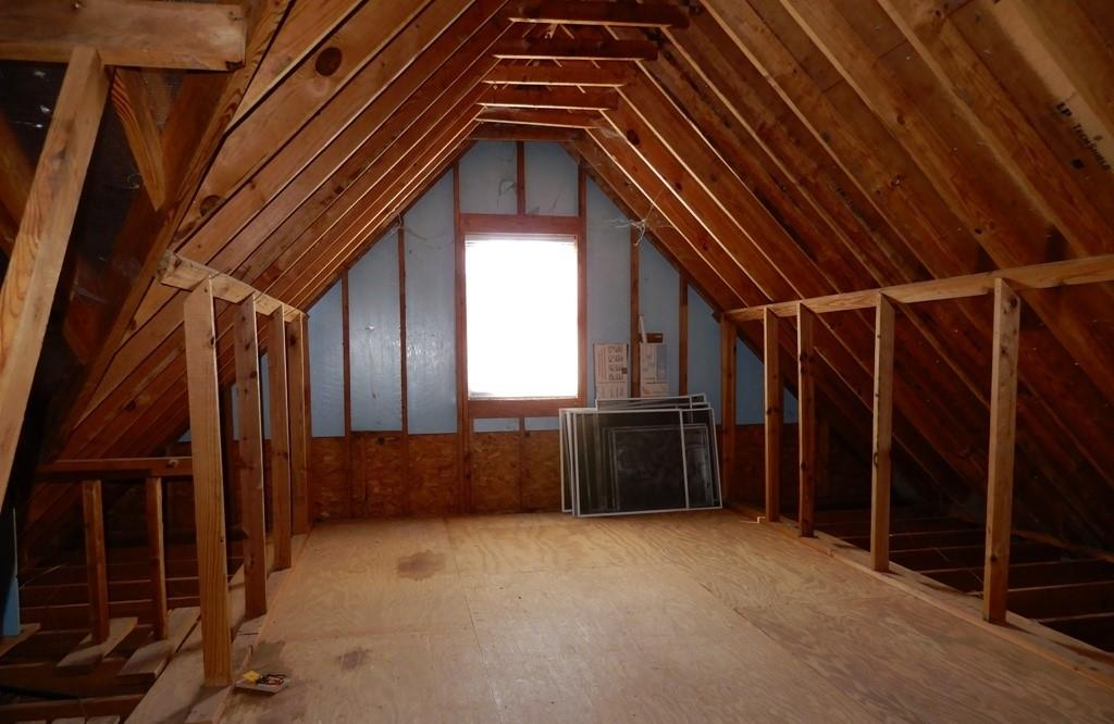 Attic space may be a Texas basement or enclose it to become a bedroom