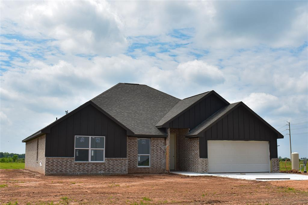 WOW!!! Country Living at it's Finest! You don't want to miss out on this gorgeous Custom New Construction TO BE BUILT property on a .39 acre lot on a cut de sac street! This unique home is located in the small charming town of East Bernard, Texas known for exemplary schools. Several custom building plans to choose from. Shown is 1807 sqft plan for representative purposes only.  It's perfect for a starter home or downsizing. No restrictions, No HOA, No MUD taxes.  City water and sewer. . Enjoy the quiet & peaceful country life on your spacious lot. All room measurements & schools should be verified independently.