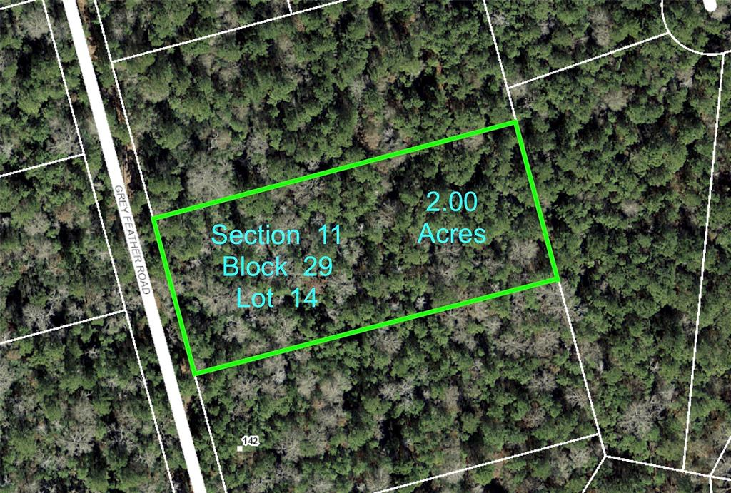11-29-14 Grey Feather Road, Huntsville, Texas 77340, ,Lots,For Sale,Grey Feather,43085695
