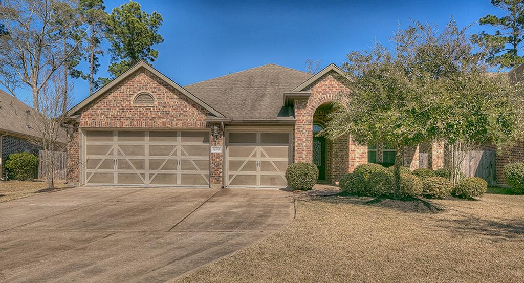 Great floor plan in desirable part of Imperial Oaks.  3-car garage, split plan, study (which can double as 4th bedroom), private & serene master suite, island kitchen, open living, breakfast, kitchen. Refrigerator included.  Cul de sac lot.