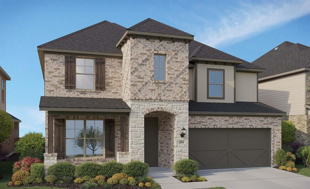 """Top Selling 2 story Floor Plan.  4 Bedrooms, 2 Car Garage, 3.5 Bathroom, 42"""" Upgraded Cabinets, Built-in Stainless Appliances,  Upgraded Flooring, Granite Countertops, Extended Covered Patio, Full Sprinklers, Full Sod, and packed with much more."""