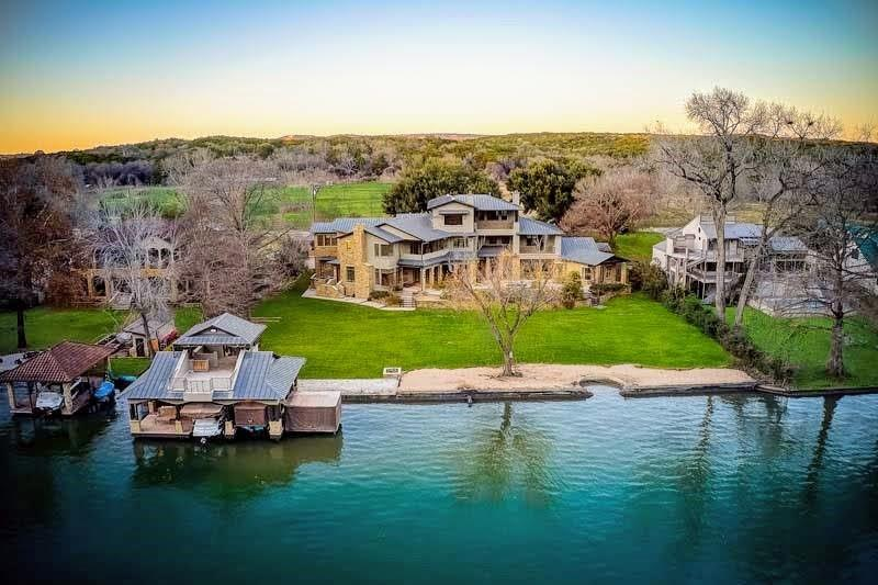 This Lake Austin Waterfront Home resides on one of the most private, sought after streets On Lake Austin.