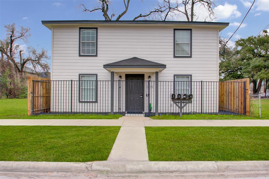 This TURNKEY quadplex boasts a fully-occupied community with tenants who are current and properly maintain the units as if it were there own. Entire property was a gut-job and is up-to-code with a recent occupancy inspection being passed in 2021. This profitable property boasts an NOI of $36,368 per year when fully occupied. Composed of four identical 2/1s. Limited maintenance costs due to all of the code upgrades. The possibilities for different investment strategies are endless. Tenants are open to renewing along with understanding of the possibility of moving out. 2 with tenants on leases, with two other being marketed for lease. PLEASE REVIEW DOCS FOR LEASE DETAILS.