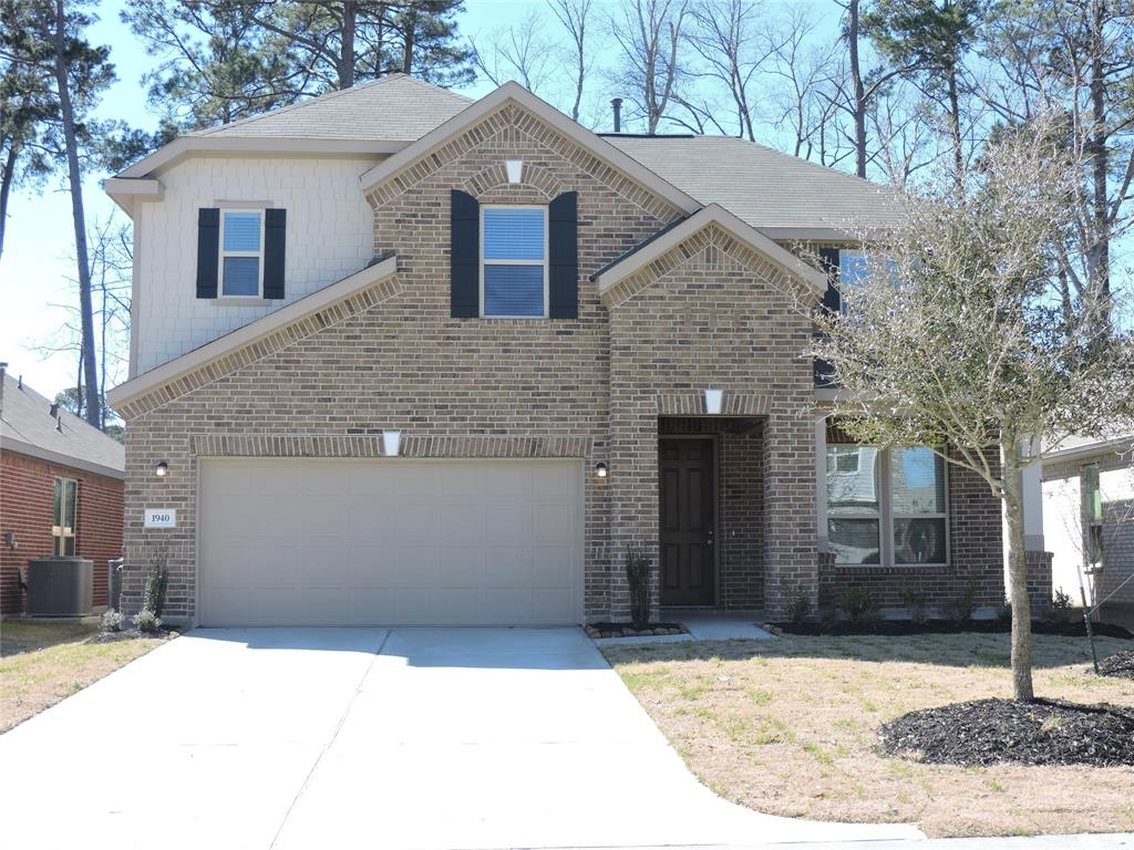 """SPARKLING New Construction located in the Beautiful Community of Wedgwood Falls. Amazing open floor plan with numerous upgrades. This beauty features 4 spacious bedrooms, 2.5 baths, Primary Suite first floor, Formal Dining with Game Room Up, Tile Flooring throughout living area, 9'-11' Ceilings. The kitchen boasts of granite, Over-sized Island with Breakfast Bar, Stainless Steel Energy Star Appliances, 42"""" cabinets with tons of storage and large pantry. Spacious Master Suite features large walk in closet, walk in shower with designer tile surround and large Kohler soaking tub. Your family and friends will enjoy the Private covered Patio with fully fenced back yard. Available for Immediate Move-In. Conveniently located near major roads/freeways, medical, schools and retail centers."""