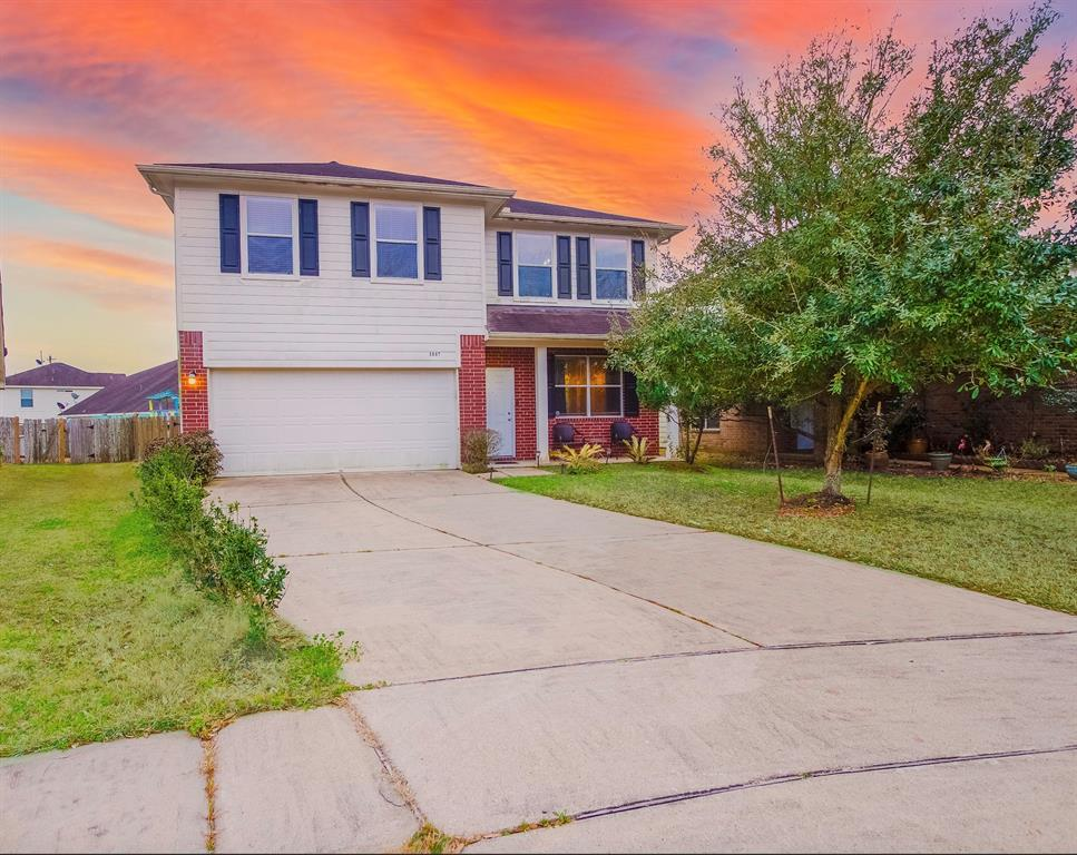 OPEN HOUSE SUNDAY APRIL 18TH FROM 12:00PM-4:00PM! Welcome home to 3807 Aurora Mist Lane located in Summerlyn and zoned to Houston ISD! This lovely Beazer Home features 4 bedrooms, 2 full baths and 1 half bath. As you open the front door you are welcomed by both he formal living and dining rooms. The stunning kitchen features dark stained cabinets with dark granite countertops and SS appliances. The family room features plush carpet and large windows allowing the natural light to shine through. End your days in the spacious master suite with walk-in closet. The master bath includes a walk-in shower, separate garden tub and double sinks. Upstairs you will also find the gameroom and 3 secondary bedrooms. Don't forget to step out back for a view of the backyard. You don't want to miss all this gorgeous home has to offer! Check out the 3D tour and schedule your showing today!