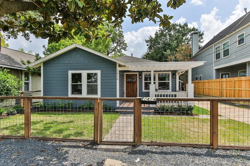 This classic Heights bungalow was recently renovated and expanded to four bedrooms and three full baths, rivaling new construction.