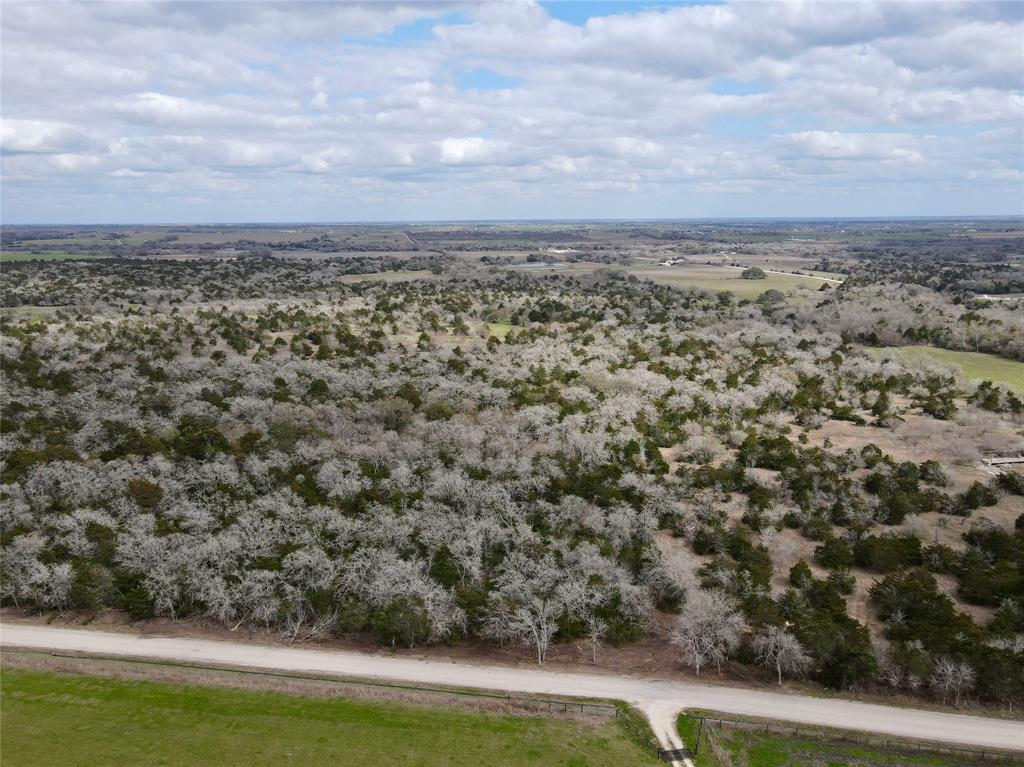 Rare, hard to find small tract of land in Lavaca County. 15 acres with mature oak trees, wooded terrain, and a dry creek. Great building site with natural privacy from the road and the neighboring properties. Perfect for building your dream home, or weekend getaway barndominium. Just minutes off Highway 95 in between Moulton and Flatonia. Paved road frontage, new entrance, and ready to be built on! Properties this size are hard to find in this area! Come take a look at this awesome tract of land!