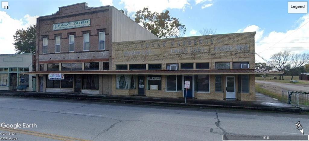 Amazing opportunity to own a piece of history with Tons of square footage.  This property has endless possibilities it could be an amazing live / work space, brewery, wine tasting room, café, boutique, office space, luxury apartments, or the most unique home in this part of the state.  The is the hard corner of 2nd and Hwy 36 just south of the FM 1093 intersection.  Just west of the super hot Fulshear and Simonton areas.  The property does need some tlc but the roof and foundation have already been done.  This one of the main downtown buildings on Commerce St.