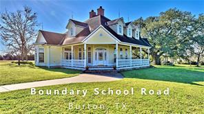 1300 Boundary School Road, Burton, TX 77835