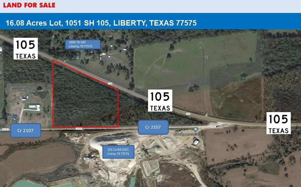 1051 1051 SH 105 Liberty, Liberty, TX 77575
