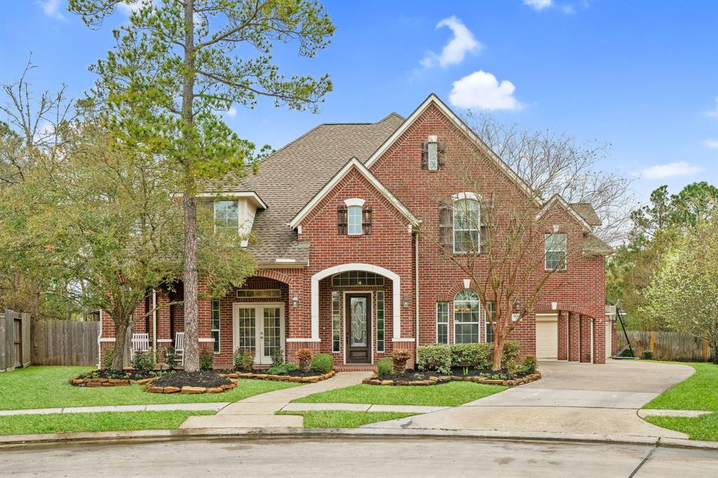 Welcome home to Shining Creek Lane in award winning Spring Trails. This spacious home includes 4BR, 3.5BA, true office, formal dining, POOL/SPA, new roof 2018, updated paint, oversized primary and secondary bedrooms, updated wood look tile, bright kitchen with stainless steel appliances, granite countertops and walk-in pantry. Upstairs has a large game room with sliding barn doors, great space for a desk station or flex space, and huge walk-in attic that could be finished into a 5th bedroom. Outdoors you will find a porte-corchere, extended driveway, 3 car detached garage with newer garage doors, backyard oasis with oversized lot, pool and spa completed in 2018, covered walkway, and endless yard space. This home has it all! Spring Trails is home to wonderful amenities and home is walking distance to pool, parks and Broadway Elementary. Make Shining Creek Lane your new home today!
