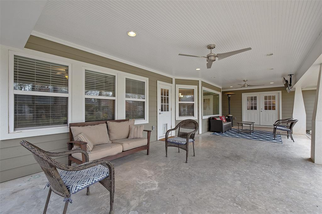 Enjoy your morning coffee and all the entertaining options that this huge covered patio offers in the back yard. The patio is accessible from the living space and primary suite.