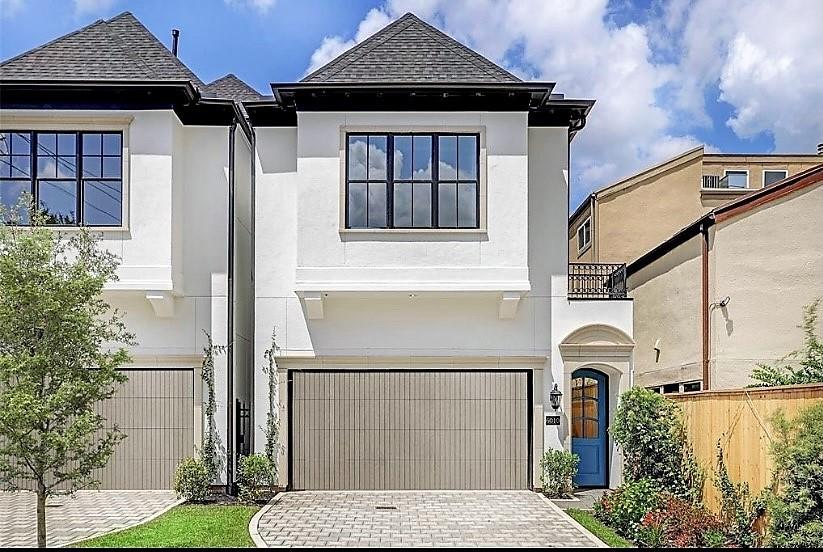 Elegant and impressive new construction built with optinmal natural light and privacy,  Just on the cusp of Briargrove in Westhaven Estates.  Offering up to 4 bedroom all ensuite baths, large room sizes, primary retreat with dual vanity resort style bath and enviable custom closets.  Enjoy a wall of windows that slide open to allow outdoor living, high ceilings, gourmet appliances, custom cabinets, soft pallette of colors, large wall space for art and a 3rd floor gameroom with glass accordian walls that open to a massive covered veranda with outdoor gas fireplace.  All of this and room for a pool!! Elevator ready, zoned to Briargrove Elementary, close to amazing restuarants, shopping, HEB & Rice Epicurean.  6010 Inwood is truly your own piece of heaven in the city!  Please visit our sister property at 6012 Inwood!
