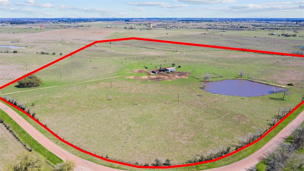 This almost square 53 acres sits in the highly desired Cat Spring area. The property sits in a curve and has lots of road frontage which makes for many possibilities in the future. There is an extra large pond on the property which is always a fun spot to fish. There is an old barn that could easily be used to store your hay, feed, etc. or the structure could easily be torn down. There is a rise to the property from front to back that you can't see in the pictures. An electrical line is already on the property, saving you money and time when you go to build your dream home or that weekend retreat. Only 35 miles to Katy and convenient to I-10 means that it is an easy commute into Houston. Unrestricted, ag exempt and has been in the same family since this area was settled. Don't miss this opportunity!